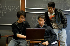 Students eLearning. Photo via Flickr Creative Commons for Commercial Use by hackNY