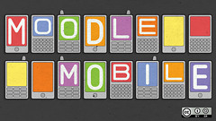 Mobile Moodle 2.x eLearning LMS. Creative Commons image from Flickr user opensourceway