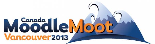 Canada MoodleMoot 2013 logo